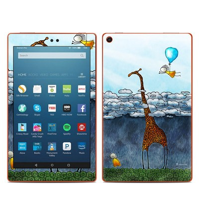 Amazon Kindle Fire HD8 2016 Skin - Above The Clouds