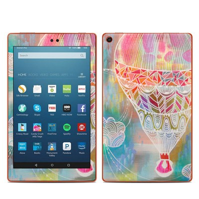 Amazon Kindle Fire HD8 2016 Skin - Balloon Ride