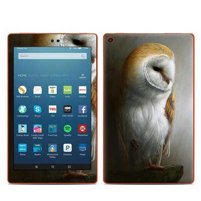 Amazon Kindle Fire HD8 2016 Skin - Barn Owl
