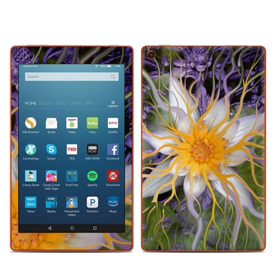 Amazon Kindle Fire HD8 2016 Skin - Bali Dream Flower