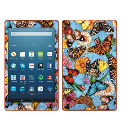 Amazon Kindle Fire HD8 2016 Skin - Butterfly Land