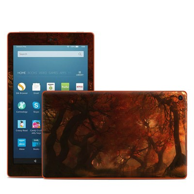 Amazon Kindle Fire HD8 2016 Skin - Canopy Creek Autumn