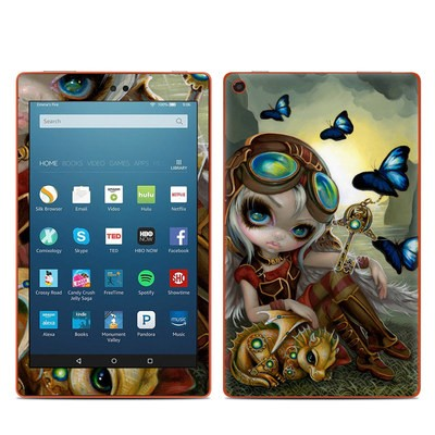 Amazon Kindle Fire HD8 2016 Skin - Clockwork Dragonling