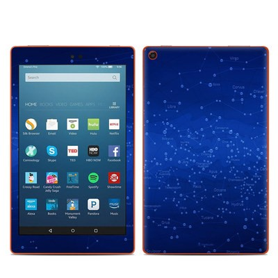 Amazon Kindle Fire HD8 2016 Skin - Constellations