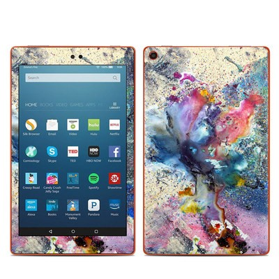 Amazon Kindle Fire HD8 2016 Skin - Cosmic Flower