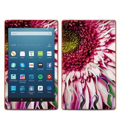 Amazon Kindle Fire HD8 2016 Skin - Crazy Daisy