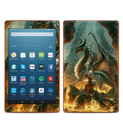 Amazon Kindle Fire HD8 2016 Skin - Dragon Mage