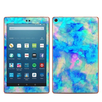 Amazon Kindle Fire HD8 2016 Skin - Electrify Ice Blue