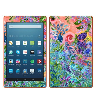 Amazon Kindle Fire HD8 2016 Skin - Fantasy Garden