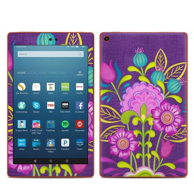 Amazon Kindle Fire HD8 2016 Skin - Floral Bouquet