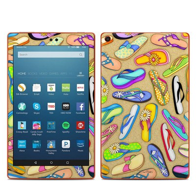 Amazon Kindle Fire HD8 2016 Skin - Flip Flops