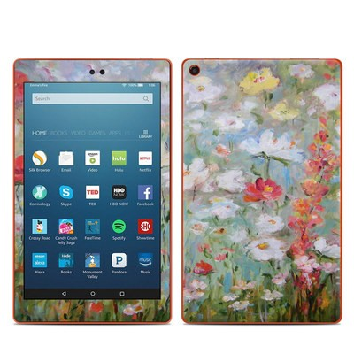 Amazon Kindle Fire HD8 2016 Skin - Flower Blooms