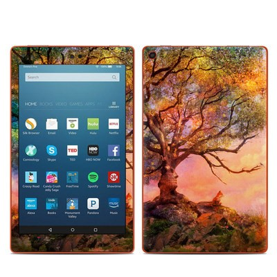 Amazon Kindle Fire HD8 2016 Skin - Fox Sunset