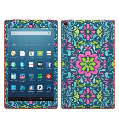 Amazon Kindle Fire HD8 2016 Skin - Freesia