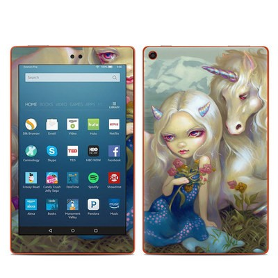 Amazon Kindle Fire HD8 2016 Skin - Fiona Unicorn