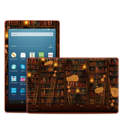 Amazon Kindle Fire HD8 2016 Skin - Google Data Center