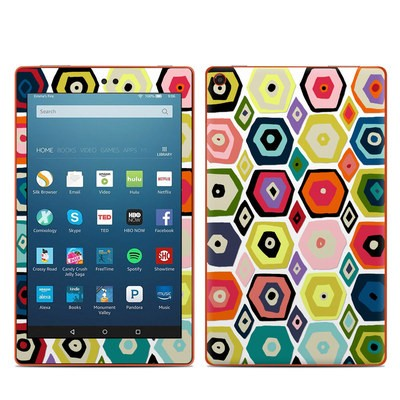 Amazon Kindle Fire HD8 2016 Skin - Hex Diamond