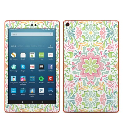 Amazon Kindle Fire HD8 2016 Skin - Honeysuckle