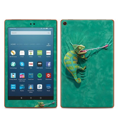 Amazon Kindle Fire HD8 2016 Skin - Iguana