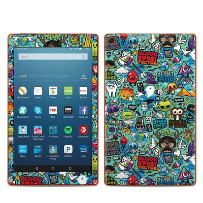 Amazon Kindle Fire HD8 2016 Skin - Jewel Thief