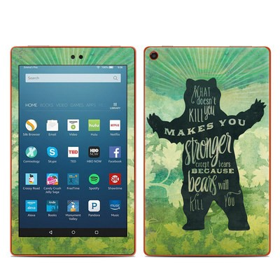 Amazon Kindle Fire HD8 2016 Skin - What Doesnt Kill You