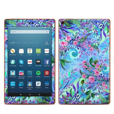 Amazon Kindle Fire HD8 2016 Skin - Lavender Flowers