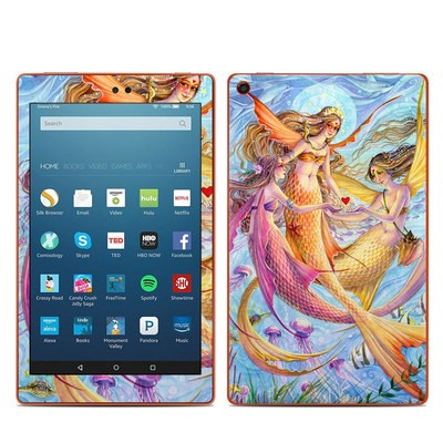 Amazon Kindle Fire HD8 2016 Skin - Light of Love