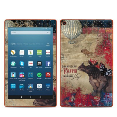 Amazon Kindle Fire HD8 2016 Skin - Leap Of Faith