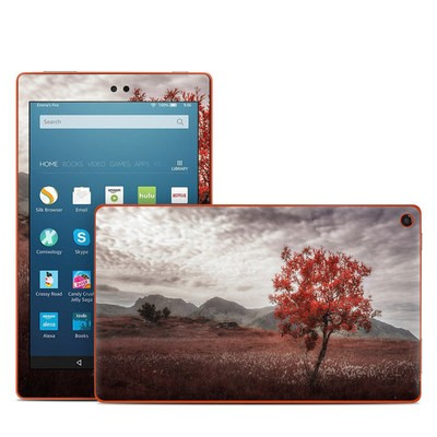 Amazon Kindle Fire HD8 2016 Skin - Lofoten Tree