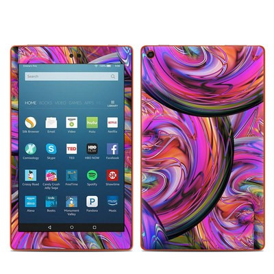 Amazon Kindle Fire HD8 2016 Skin - Marbles