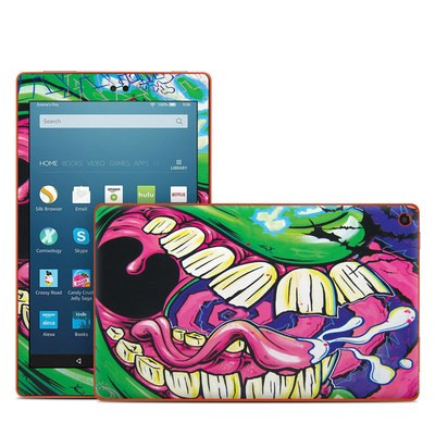 Amazon Kindle Fire HD8 2016 Skin - Mean Green