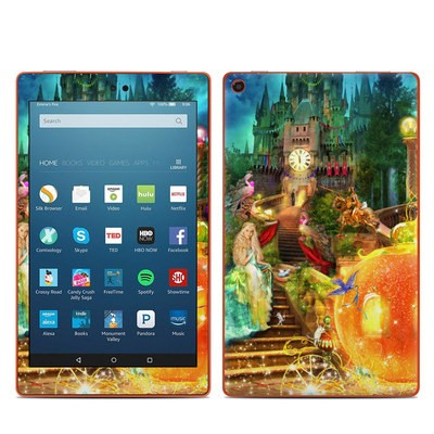 Amazon Kindle Fire HD8 2016 Skin - Midnight Fairytale