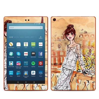 Amazon Kindle Fire HD8 2016 Skin - Mimosa Girl