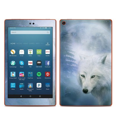 Amazon Kindle Fire HD8 2016 Skin - Moon Spirit