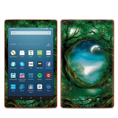 Amazon Kindle Fire HD8 2016 Skin - Moon Tree