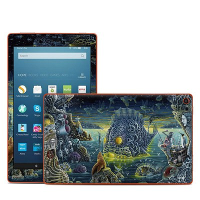 Amazon Kindle Fire HD8 2016 Skin - Night Trawlers