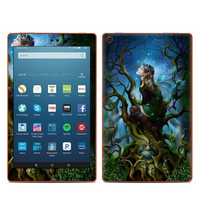 Amazon Kindle Fire HD8 2016 Skin - Nightshade Fairy