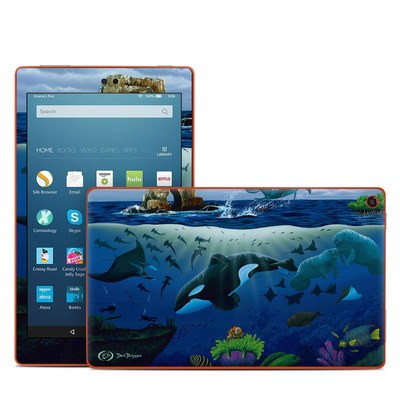 Amazon Kindle Fire HD8 2016 Skin - Oceans For Youth