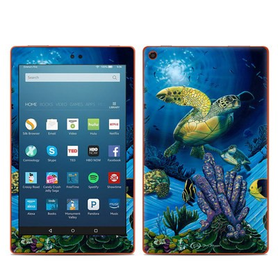 Amazon Kindle Fire HD8 2016 Skin - Ocean Fest
