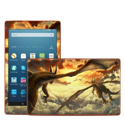 Amazon Kindle Fire HD8 2016 Skin - Over the Clouds