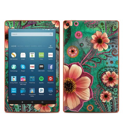 Amazon Kindle Fire HD8 2016 Skin - Paisley Paradise