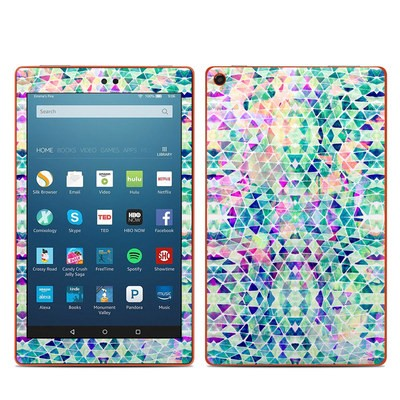 Amazon Kindle Fire HD8 2016 Skin - Pastel Triangle
