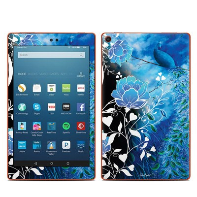 Amazon Kindle Fire HD8 2016 Skin - Peacock Sky