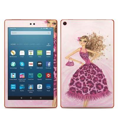 Amazon Kindle Fire HD8 2016 Skin - Perfectly Pink