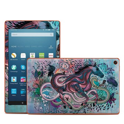 Amazon Kindle Fire HD8 2016 Skin - Poetry in Motion