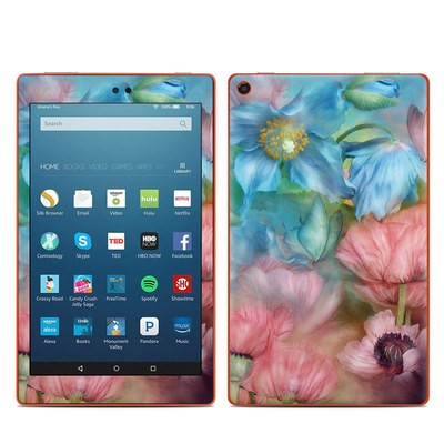 Amazon Kindle Fire HD8 2016 Skin - Poppy Garden