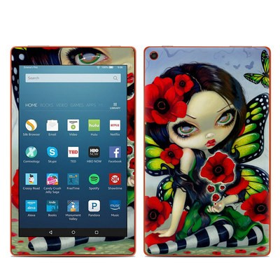 Amazon Kindle Fire HD8 2016 Skin - Poppy Magic