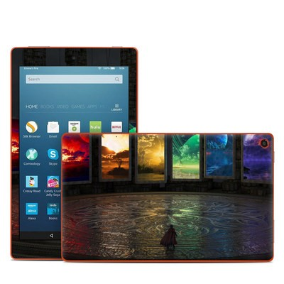 Amazon Kindle Fire HD8 2016 Skin - Portals