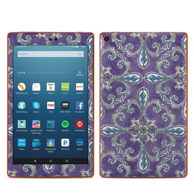 Amazon Kindle Fire HD8 2016 Skin - Royal Crown