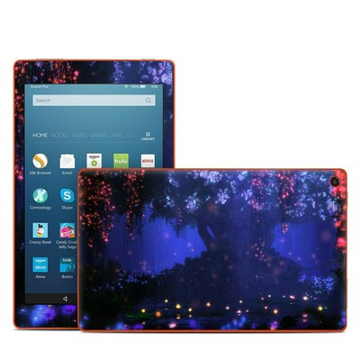 Amazon Kindle Fire HD8 2016 Skin - Satori Night